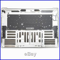 Apple Macbook Pro 15 A1707 Topcase Tastatur Beleuchtet 2016 Palmrest silber