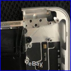 Apple Macbook Pro 15 Retina Top Case Keyboard Palmrest Battery A1398 Late 2013