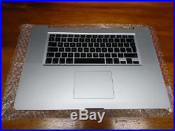 Apple Macbook Pro 17 Unibody Upper Top Case Grade B 2010 A1297 661-5473