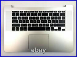 Apple Macbook Pro A1398 15 Mid 2015 Top Case Battery Keyboard Trackpad A1618