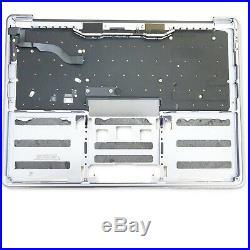Apple Macbook Pro Retina 13,3 A1708 Topcase Tastatur Gehäuse 2016 2017 silber
