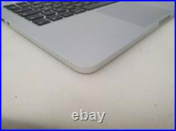 Apple Macbook Pro Retina 13 A1502 2013/2014 Top case keyboard palmrest battery