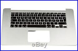 Apple Macbook Pro Retina 15 A1398 2013-2014 Topcase Cover Gehäuse Tastatur