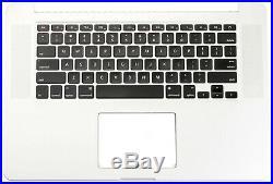 Apple Macbook Pro Retina UK A1398 15 2013-2014 Topcase Cover Gehäuse Tastatur