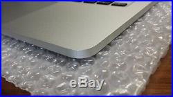Apple Macbook Pro US Upper Top Case & Battery A1425 Grade A 2012 2013 661-7016