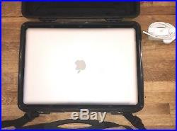 Apple Macbook Pro i7 2.2 GHz Quad core Peli Case, 16GB RAM 1.5 TB SSD Bundle