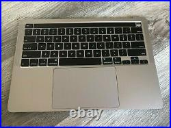 As-is 2020 Macbook Pro A2289 Top Case Keyboard 2 Tb Ports Space Gray