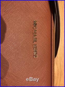 BNWT Michael Kors Tan Leather Laptop Case MacBook Pro 13 & Pro Retina 3