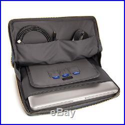 Black VanGoddy Sleeve Bag Case for Apple MacBook Pro 13.3-Inch / iPad Pro 12.9
