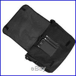 Blue Canvas Laptop Shoulder Messenger Bag Case for Apple MacBook Pro 15.4-Inch