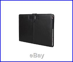Decoded D4MA15SC1BK Slim Leather Case for Apple MacBook Pro Retina 15 Inch