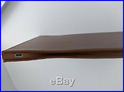 DockCase A1s Docking Station Microfiber Leather Case Bag for MacBook Pro 15