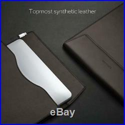 DockCase Ultimate Docking Station and Leather Sleeve Case Bag for MacBook