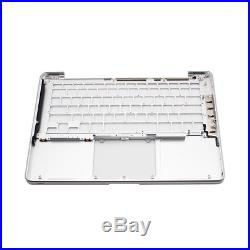For Macbook Pro A1278 2009-2010 Keyboard Cover Case Housing Replacement Silver