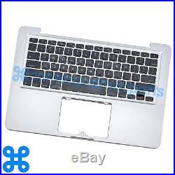 GRADE C TOP CASE HOUSING + KEYBOARD Apple MacBook Pro 13 A1278 Mid 2012