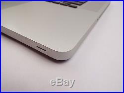 Genuine Apple MacBook Pro 15 A1286 2009 Palmrest Upper Full Case Keyboard 87