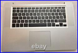 Genuine Apple MacBook Pro 15 A1286 Top Case Palmrest 069815310 UK Layout