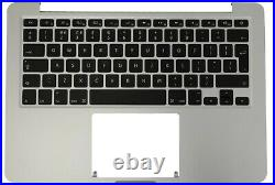 Genuine Apple MacBook Pro Retina 13 A1502 2015 Palmrest Case UK Keyboard (A)