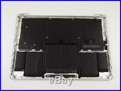 Genuine MacBook Pro 13 late 2013 mid 2014 A1502 Palmrest Upper Case Keyboard UK