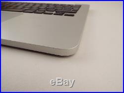 Genuine MacBook Pro 13 late 2013 mid 2014 A1502 Palmrest Upper Case Keyboard US