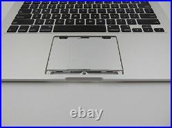 Genuine MacBook Pro Retina 13 A1425 2012 2013 Palmrest Upper Case Battery 3