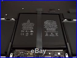Genuine MacBook Pro Retina 13 A1502 early 2015 Palmrest Upper Case Assembly A++