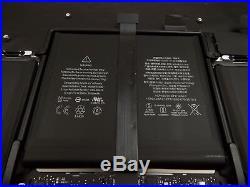 Genuine MacBook Pro Retina 13 A1502 early 2015 Palmrest Upper Case Assembly A
