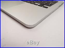 Genuine MacBook Pro Retina 13 A1502 late 2013 2014 Palmrest Upper Case TQ