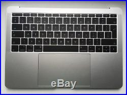 Genuine Macbook Pro A1708 13 Mid 2017 Silver Full Top Case Palmrest Assembly