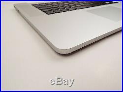 Genuine Palmrest for MacBook Pro Retina 15 A1398 mid 2012 2013 Upper Case 1