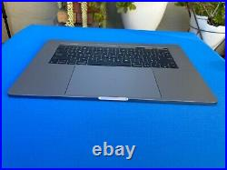 Genuine Top Case Battery Keyboard Trackpad for MacBook Pro A1707 15 2016 2017