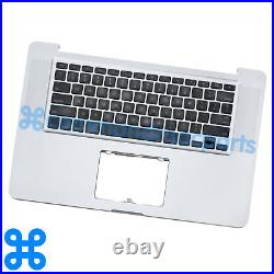 Gr A TOP CASE + KEYBOARD MacBook Pro Unibody 15 A1286 Early, Late 2011, Mid 2012