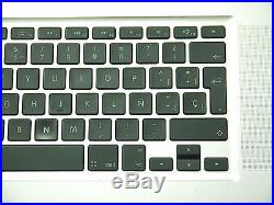 Grade B Top Case Palm Rest with Spanish Keyboard for MacBook Pro 17 A1297 2009