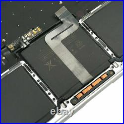 Gray MacBook Pro 13.3 A1708 2017 keyboard Battery A1713 Touchpad Top Case