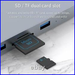 Hard Drive Enclosure USB 3.0 Hub Mac Mini For MacBook Pro Type C SSD Case Server