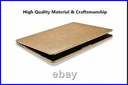 ICARER for MacBook Pro 16 inch Leather case, 2019 Release A2141 Premium PU Le