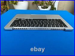 Keyboard Battery upper case for Apple Macbook Pro a1502 13 2013 2014 Grade A
