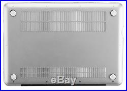 Kuzy CLEAR Case for MacBook Pro 17 A1297 Plastic Shell Cover CRYSTAL CLEAR