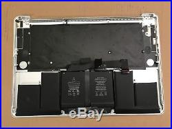 LOT 5 MacBook Pro A1398 15 Mid 2015 Top Case Keyboard Trackpad 661-02536 AS IS