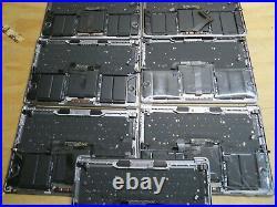 LOT OF 9 OEM Macbook Pro 13 A1706 Gray Top Case Keyboard Battery A1819