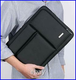 Lacdo Laptop Sleeve Case Bag for 13-inch New MacBook Pro Air 13 Inch, Black