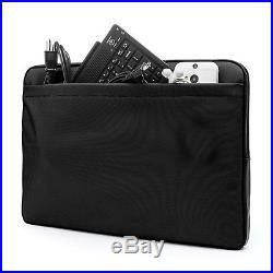 Laptop Nylon Sleeve Case Bag for Macbook Pro13.3 & Ipad Pro 12.9 Black