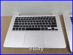 Lot of 5x Apple Macbook Pro 13, 15 units, case, screen, keyb For Parts AS IS