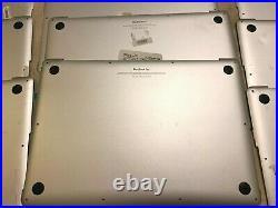 Lot of 70 macbook pro a1398 a1286 a1466 a1465 a1278 Bottom case covers Grade C D