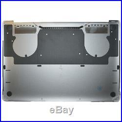 Lower Bottom Case für Apple MacBook Pro Retina A1707 15 Untergehäuse 2016 Grau