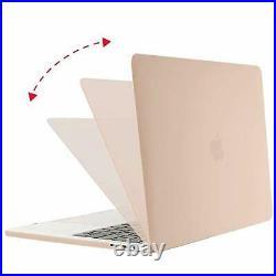 MOSISO MacBook Pro 13 inch Case 2020 2019 2018 2017 2016 Release A2159 Camel