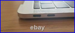 MacBook Pro 13 2016 2017 A1708 Palmrest Top Case Keyboard Battery silver