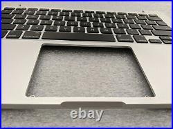 MacBook Pro 13 A1502 2015 Retina Keyboard PalmRest Top Case backlit backlight