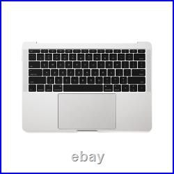 MacBook Pro 13 A1708 2016 2017 Top case Keyboard Trackpad Space Gray and silve