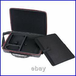 MacBook Pro 13 Case Durable Large Capacity Crossbody Handle Briefcase Bag Black